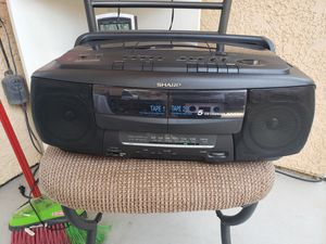 Sharp portable boombox stereo for Sale in Fresno, CA