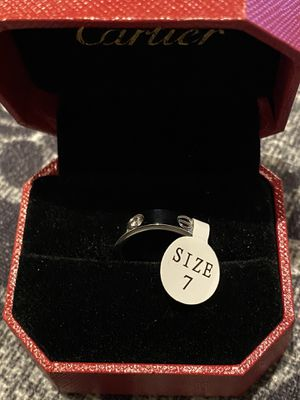 Cartier Ring size 7 with stone- New with Box for Sale in Los Angeles, CA