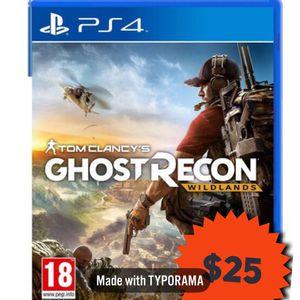 Tom Clancy's Ghost Recon Wildlands [PS4 Game] for Sale in Herndon, VA