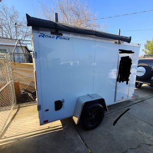 2020 Wells CARGO 5x10 Enclosed Trailer for Sale in Stockton, CA