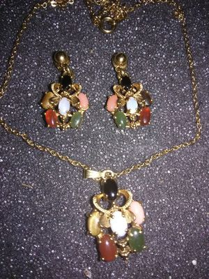 Gold plated Birthstone Set for Sale in Webster, FL