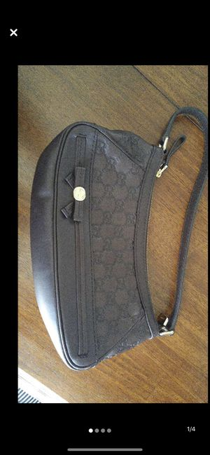 Dark Chocolate Leather Gucci Bag. Paid $1,100 for Sale in El Dorado Hills, CA