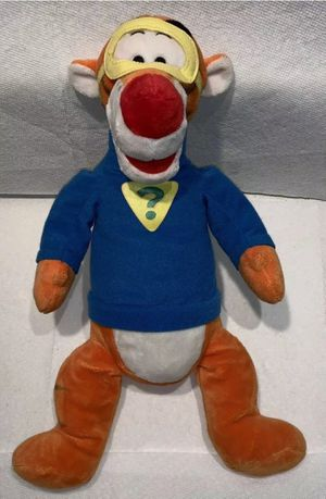 """Tigger 17"""" Plush Super Sleuth Masked Stuffed Animal My Friends Tigger + Pooh for Sale in Fort Rucker, AL"""