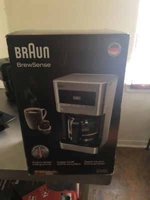 Braun Coffee Maker New KF7070 for Sale in Spring, TX