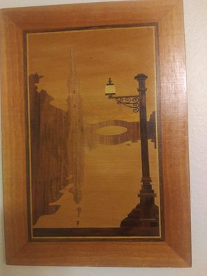 VINTAGE RUSSIAN INLAID WOOD WALL DECOR for Sale in Lakewood, CO