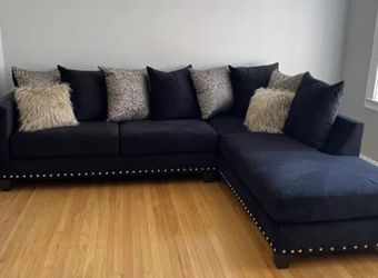 Black Sectional Sofa Couch !! Brand New for Sale in Chicago,  IL
