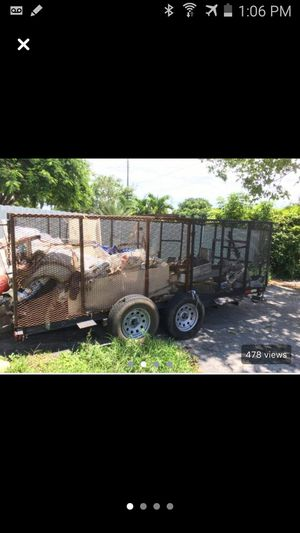 Trailer Doble axel for Sale in Hollywood, FL