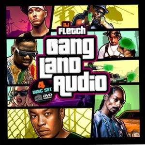 GTA Grand Theft Auto 90s hip-hop gangster rap music videos CD DVD Dr. Dre Snoop Dogg Eazy-E Tupac biggie Eminem Bone Thugs-N-Harmony for Sale in San Francisco, CA
