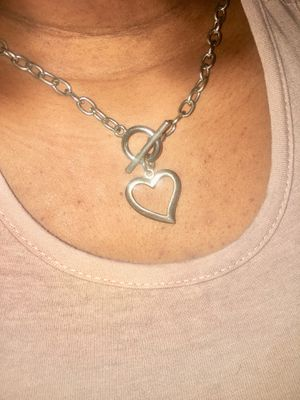 Heart charm necklace for Sale in Atlanta, GA