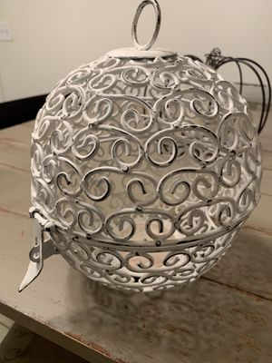 Wrought iron candle holder for Sale in Visalia, CA