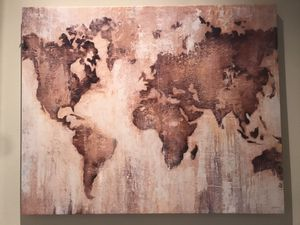 Large Atlas canvas wall decor for Sale in Irvine, CA