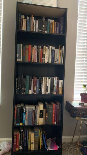 2 Black Ikea Bookshelves Tall for Sale in Atlanta, GA