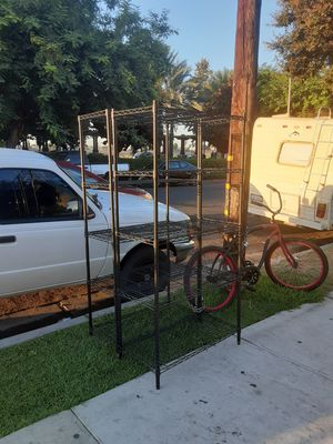 Metal racks 1 available 50 bucks for Sale in Anaheim, CA