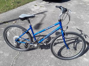 "Schwinn Frontier DLX 21 speed bike with New 26"" tires, 18"" frame. Self seal tubes. for Sale in Wesley Chapel, FL"