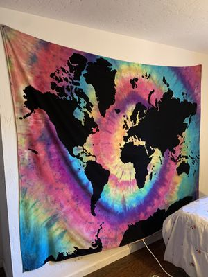 Urban Outfitters World Map Tapestry for Sale in Spring Valley, CA