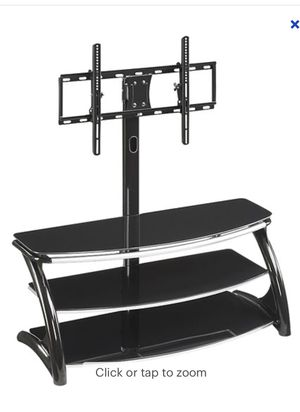 """Whalen Furniture - 3-in-1 TV Stand for Flat-Panel TVs Up to 56""""- Black for Sale in Miami, FL"""