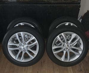 """NEW Chevy Tires & Rims 225 55 17"""" - Set of 4 - $325 FIRM for Sale in North Las Vegas, NV"""