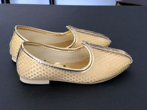 Toddler boy shoes- mojadi/ jutti/ Indian ethnic shoe wear for Sale in Sterling Heights, MI