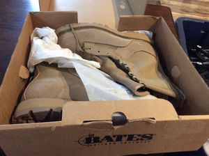Brand new Bates uniform footwear size 7 1/2 Gore-Tex products. for Sale in Jupiter, FL