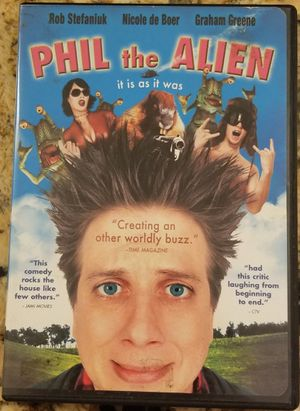 Phil the Alien dvd movie stars Rob Stefaniuk for Sale in Three Rivers, MI