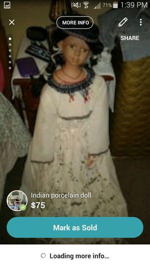 Indian doll for Sale in Pekin, IL