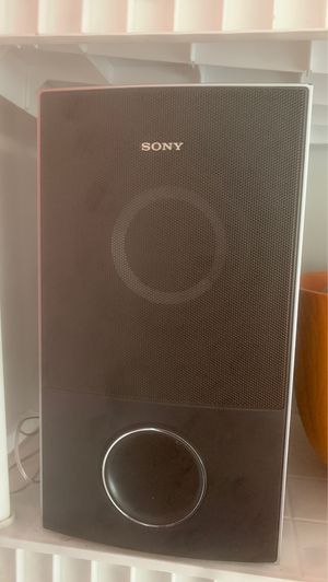 "Sony 8"" subwoofer for Sale in Columbus, OH"