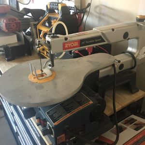 Table Top Wood/Metal Scroll Saw. Ryobi for Sale in Fresno, CA