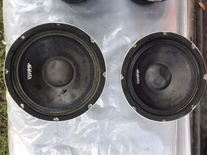 Pro audio 8 inch speakers for Sale in Dade City, FL