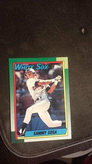 Topps Sammy Sosa 1989 Baseball Card for Sale in Gilbert, AZ