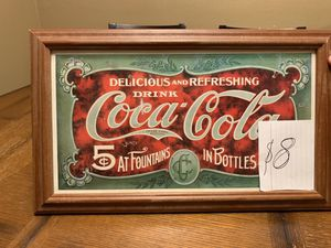 Coca-Cola frame for Sale in Phoenix, AZ