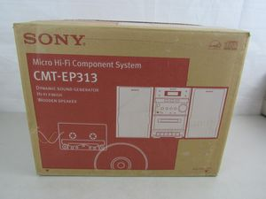 Sony CMT-EP313 Micro Hi Fi Component System-New for Sale in North Springfield, VA
