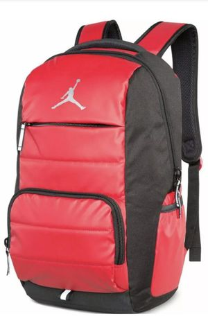 Nike Jordan Jumpman 9A1640-681 Laptop bag Basketball Backpack Gym Red/Black for Sale in Fountain Valley, CA