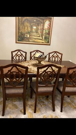 Dining Table With 6 Chairs for Sale in Lincoln Park,  NJ