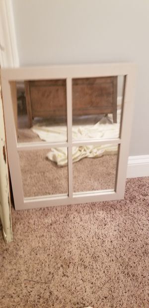 Window Style Mirror for Sale in Mint Hill, NC