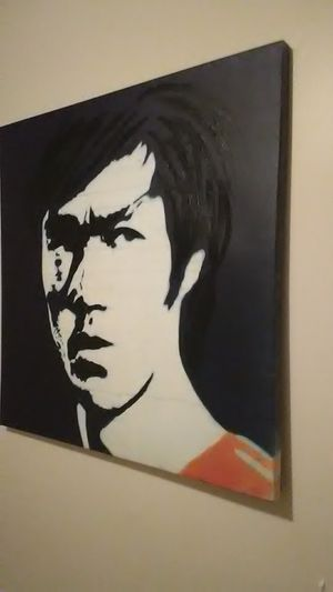 Bruce Lee hand painted for Sale in Baltimore, MD