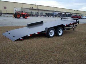 Single car trailer with tilt for Sale in Baltimore, MD