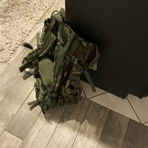 Camping Bag / Backpacking Bag/ Ammo Bag/ Hicking Bag for Sale in San Bernardino, CA