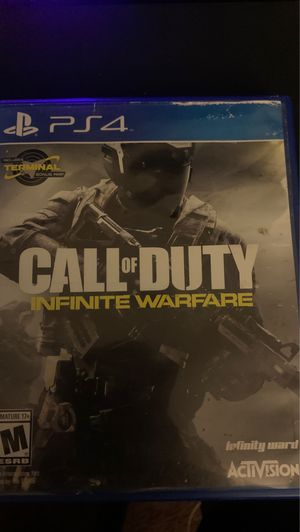 Call of Duty Infinite Warfare PS4 for Sale in Buena Park, CA