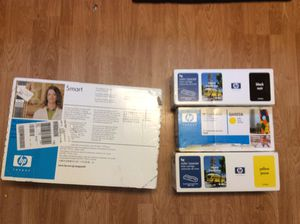 Lot of 4 Large Various HP Ink Cartridges for Sale in Severn, MD