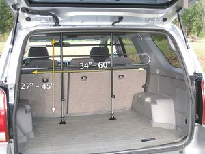 CAR SUV PET BARRIER for Sale in Everett, WA