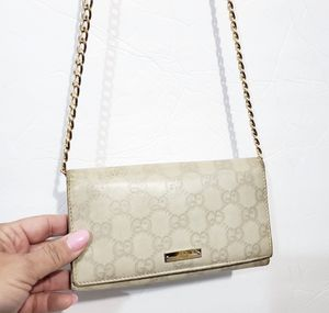 Gucci Wallet Crossbody Authentic with Chain for Sale in Federal Way, WA