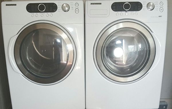 SAMSUNG WASHER AND DRYER FRON LOAD