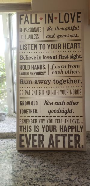 Love Wall Art Picture Home Decor for Sale in Pasadena, CA