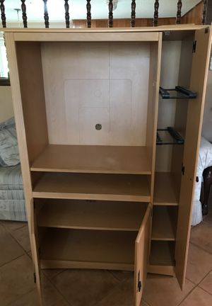 TV Cabinet with storage for Sale in Laredo, TX