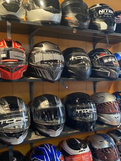 New Motorcycle Dot Helmet S And More $75 and Up for Sale in Whittier,  CA