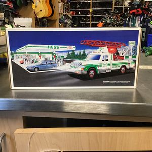 Hess rescue truck in the box new for Sale in Strathmore, NJ