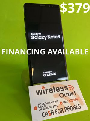 SAMSUNG NOTE 8 UNLOCKED!!! FINANCING AVAILABLE!!! for Sale in Henderson, NV