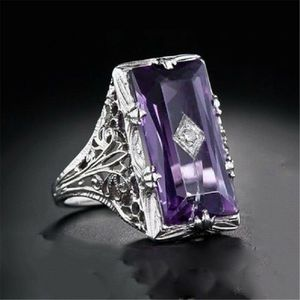 *NEW ARRIVAL* Amethyst Purple Wedding Engagement Ring Jewelry Sizes 6 1/2 / 7 1/2*See My Other 300 Items* for Sale in Palm Beach Gardens, FL