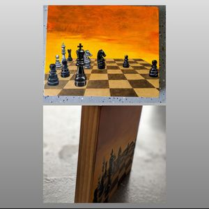 Chess Wooden Art Frame for Sale in Lewisville, TX