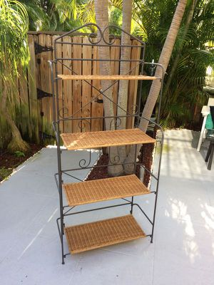 """Bakers Rack 72"""" Tall, 4 Shelves for Sale in West Palm Beach, FL"""